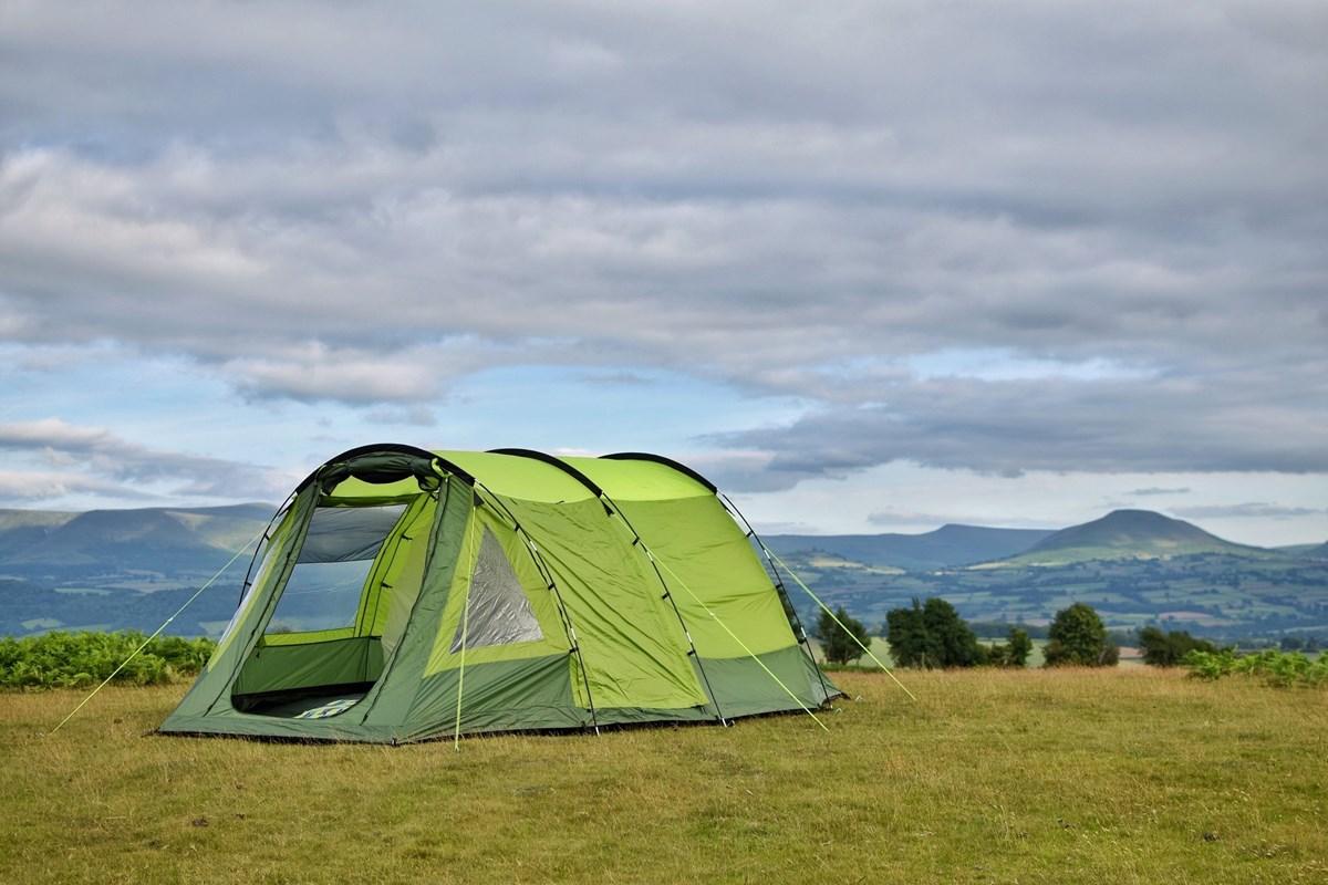 Green 4 Berth Tent Family Tent