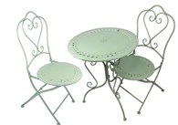 Green Heart Bistro Set