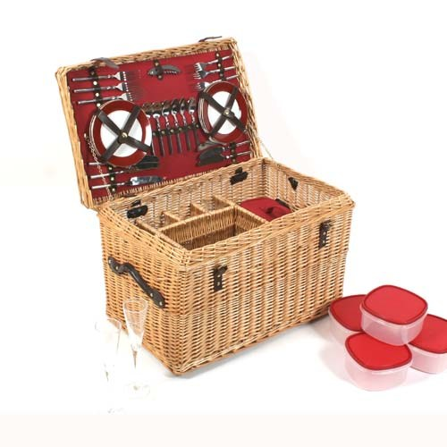 Greenfield Goodwood Hamper 6 Person Picnic Set