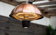 Hanging Copper Effect Electric Patio Heater