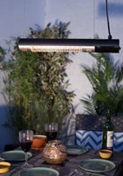 Hanging or Wall Mounted Garden Heater 1500 or 2200W