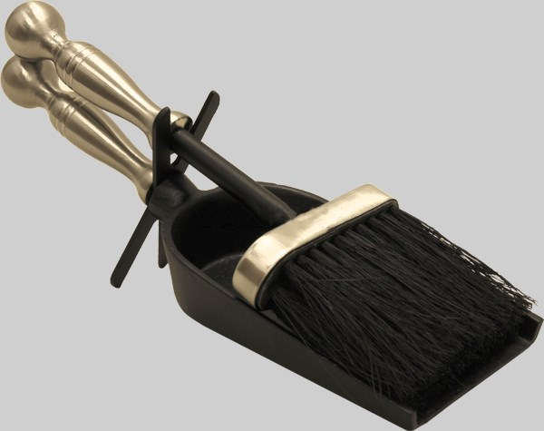 Hearth Tidy Companion Set Brush and Shovel 3 Colours
