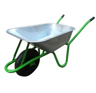 Heavy Duty Galvanised Wheelbarrow