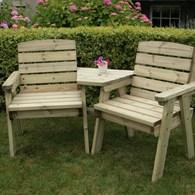 Heavy Solid Wood Companion Seat