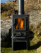 Hobbit Small Wood Burning Stove Bell