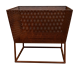 Iron Firepit in Rust or Black