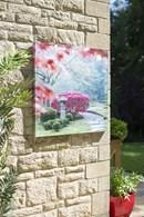Japan Style Garden Outdoor Wall Art