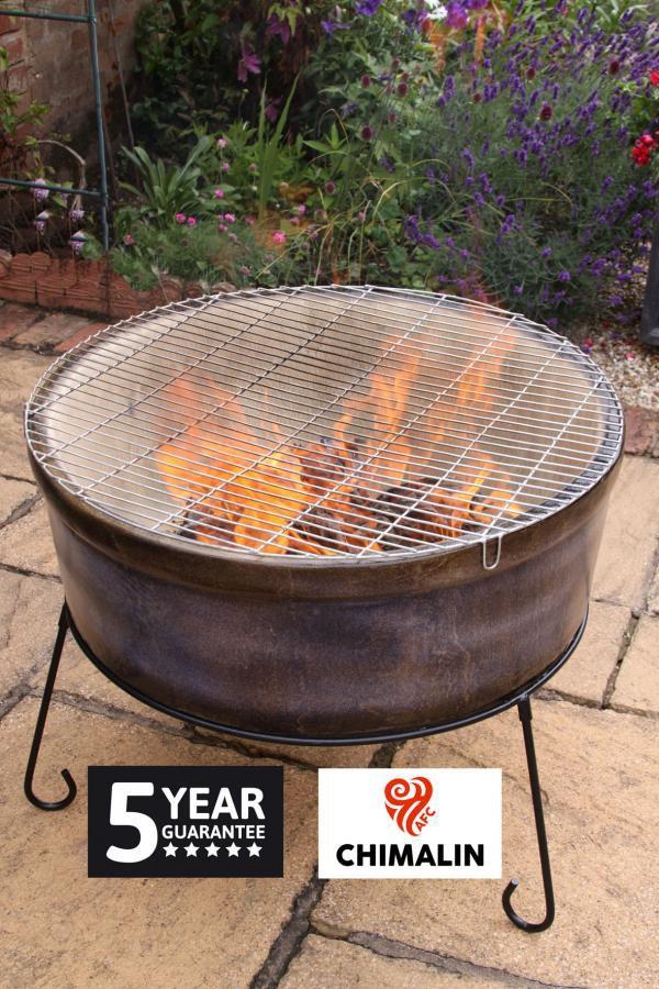 Jumbo Fire Bowl And Bbq In One Chimalin Afc Savvysurf Co Uk