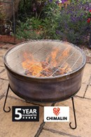 Jumbo Fire Bowl and BBQ in One! Chimalin AFC