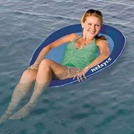 Kelsyus Float A Round Pool Lounger Water Lilo