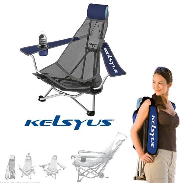Kelsyus Portable Backpack Beach Chair Camping Chair Garden Chair Seat Recliner : eBay