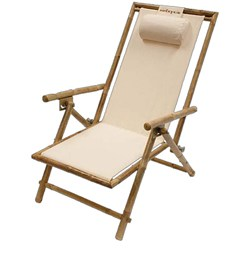 Kelsyus Sit Bamboo Beach Recliner Deck Chair  sc 1 st  Savvysurf & Kelsyus Sit Bamboo Beach Recliner Deck Chair - savvysurf.co.uk islam-shia.org