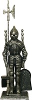 Knight Companion Set Silver Black