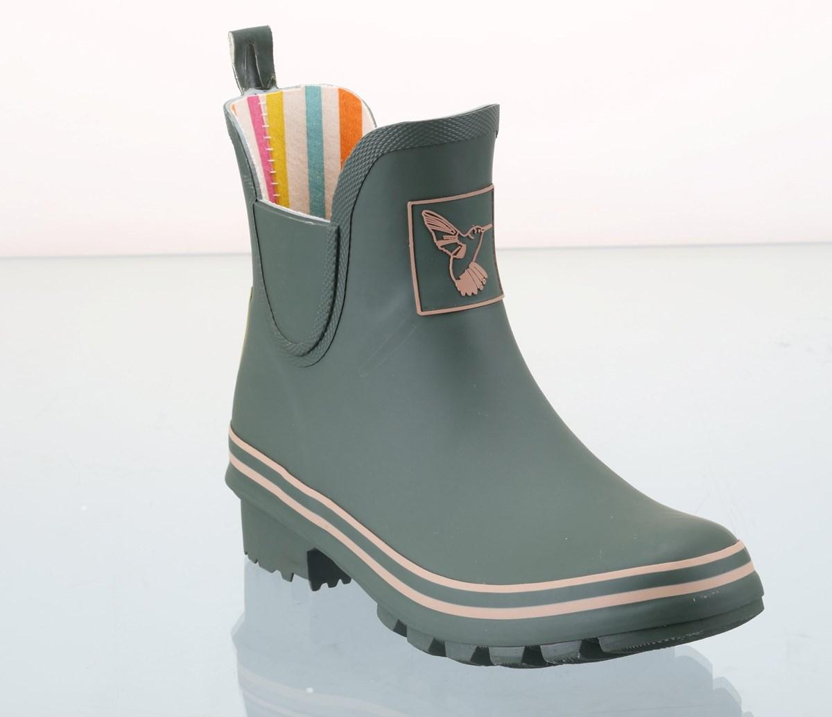 Fantastic Womens Girls Farm Garden Fashion Rain Outdoor Wellies Shoes Boots UK 3 4 5 6 7 8 | EBay