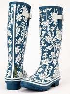 Ladies Evercreatures Delft  Wellies