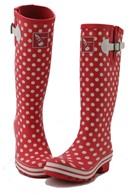 Ladies Evercreatures Polka Dot Wellies