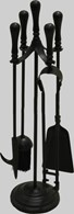 Large Black Companion Set Tools