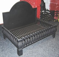 Large Cast Iron Fire Basket Cast Iron Dog Grate