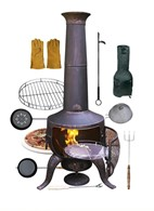 Large Chimenea Gift Set with Accessories