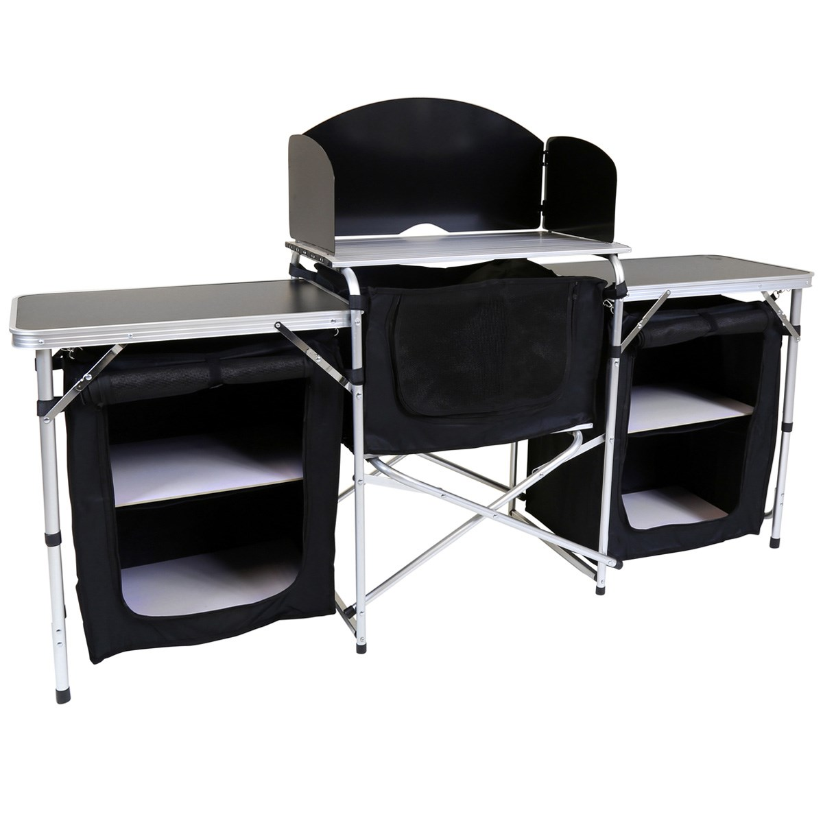 Large Folding Kitchen Camping Storage Unit