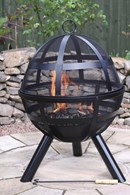 Large Mesh Fire Pit