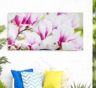 Large Pink Flower Garden Wall Art