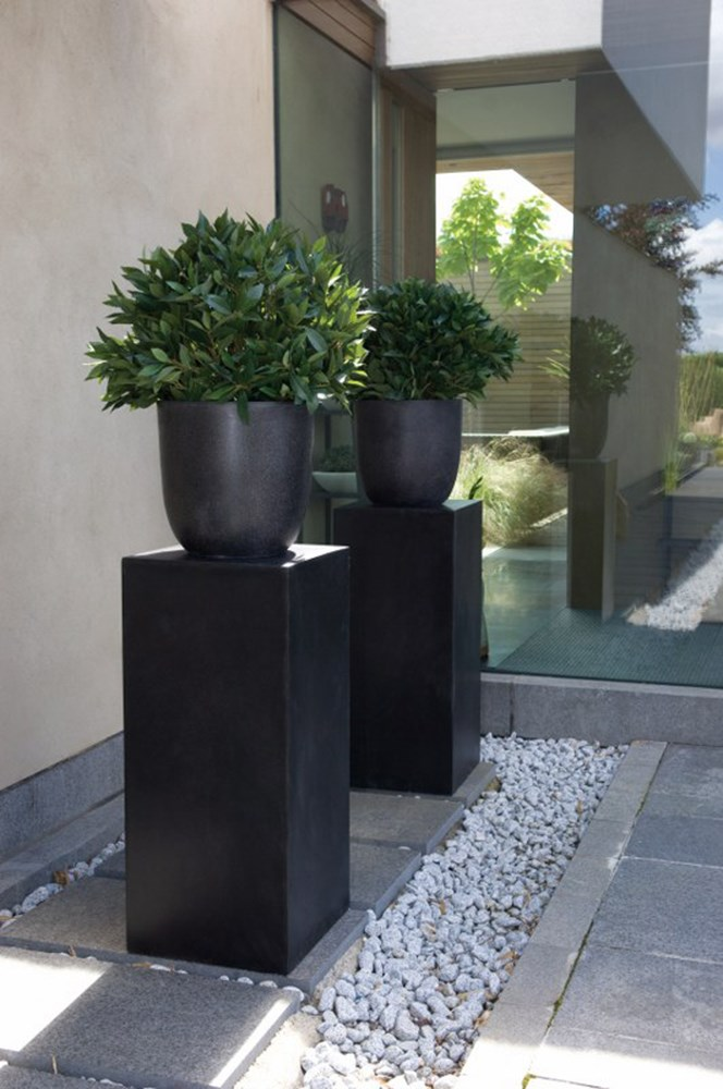 Lightweight Granite And Crushed Marble Plant Pot Savvysurf Co Uk