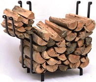 Log and Kindling Holder in One