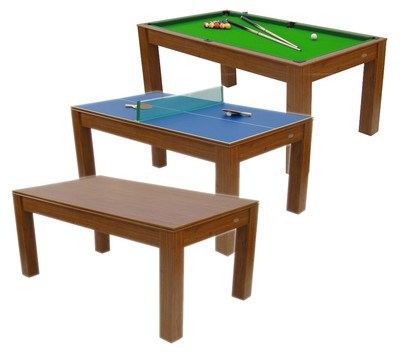 Mars Deluxe Combi Games Table Pool   Table Tennis And Dinner Table