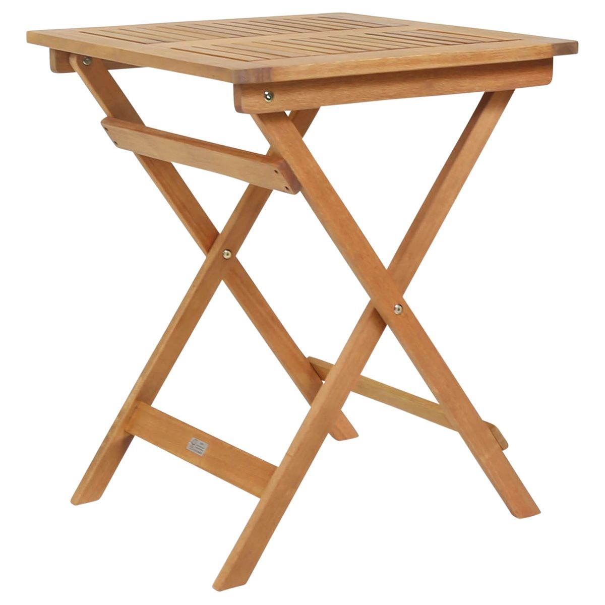 Medium Garden Wooden Side Table Folding