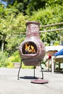 Medium Red Clay Chimenea