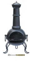 Medium Steel Chimenea