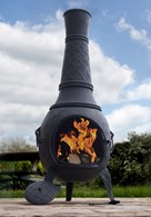Mega Cast Iron Chimenea