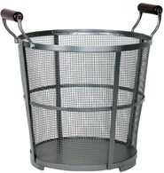 Mesh Log Holder Fireside Basket