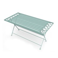 Metal Garden Coffee Table in Sage