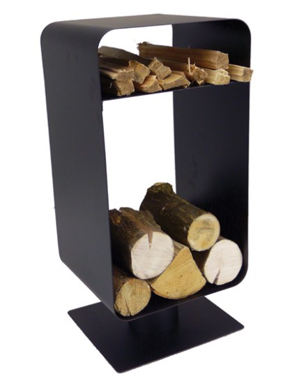 Metal Log and Kindling Holder
