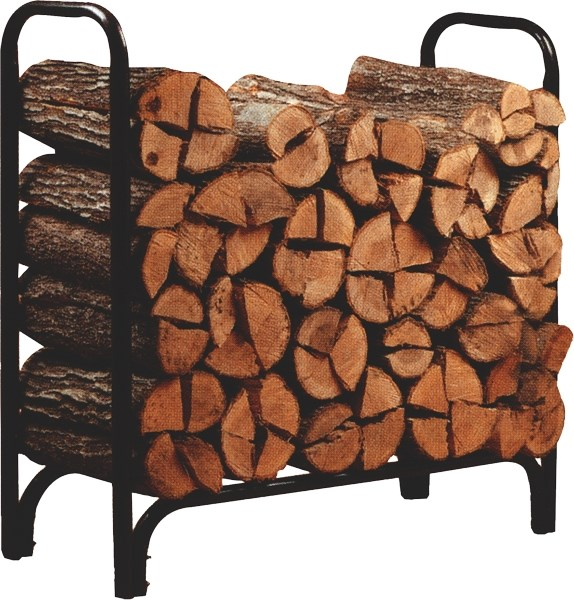 Metal Log Rack Wood Store