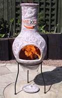 Mexico Clay Chimenea