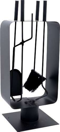 large modern companion set fireside tools. Black Bedroom Furniture Sets. Home Design Ideas