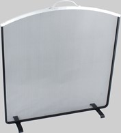 Modern Fire Screen in Two Colours