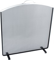Modern Fireplace Screen 3 Colours