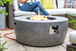 Contemporary Gas Firepit with FREE Cover