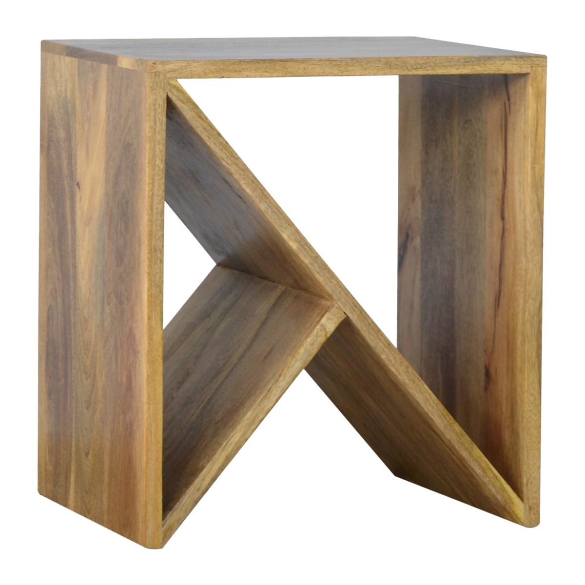 Modern Geometric Side Table