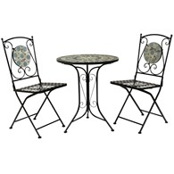 Mosaic Bistro Set Two Seater