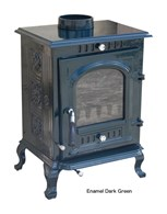 Multi Fuel Cast Iron Stove Enamel 16 Colours Available