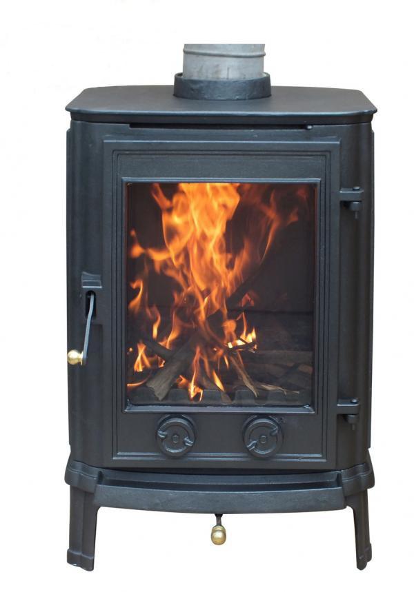 Multi Fuel Cast Iron Wood Burning Stove 4kw Savvysurf Co Uk