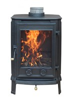 Multi Fuel Cast Iron Wood Burning Stove 4KW