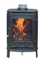 Multi Fuel Cast Iron Wood Burning Stove 4KW