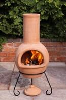 Natural Clay Terracotta Chimenea