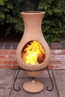 Natural Terracotta Chimenea 3 Sizes